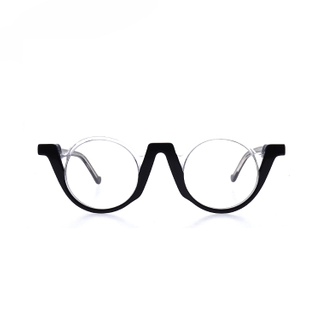 Fashion Half Frame Plastic Reading Glasses LR-P6764