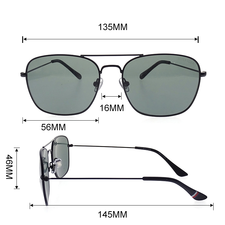 2020 New Customized Metal Polarized Prices Glasses Sunglasses LS-M45