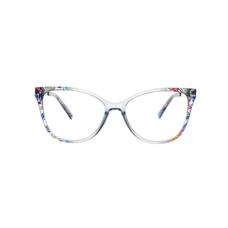 New fashion mosaic optical eye glass eyeglasses frames LO-OI258