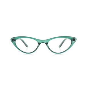 Fashion custom logo triangle reading glasses LR-P6346