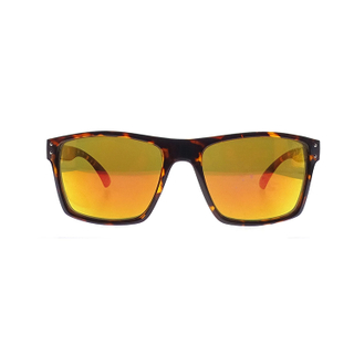 Street Style Yellow Lens Leopard Frame Tortoise Ladies Shades PC Sunglasses LS-P730