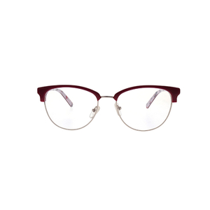 Trend Large Half-frame Cat's Eye Unique Glasses Frame LO-B592