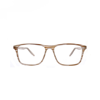 Unisex Zebra Wood Plastic Reading Glasses LR-P6793
