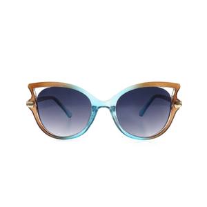 Fashion Oversize Gradient Colour Cat Eyes Sunglasses For Women LS-P1250