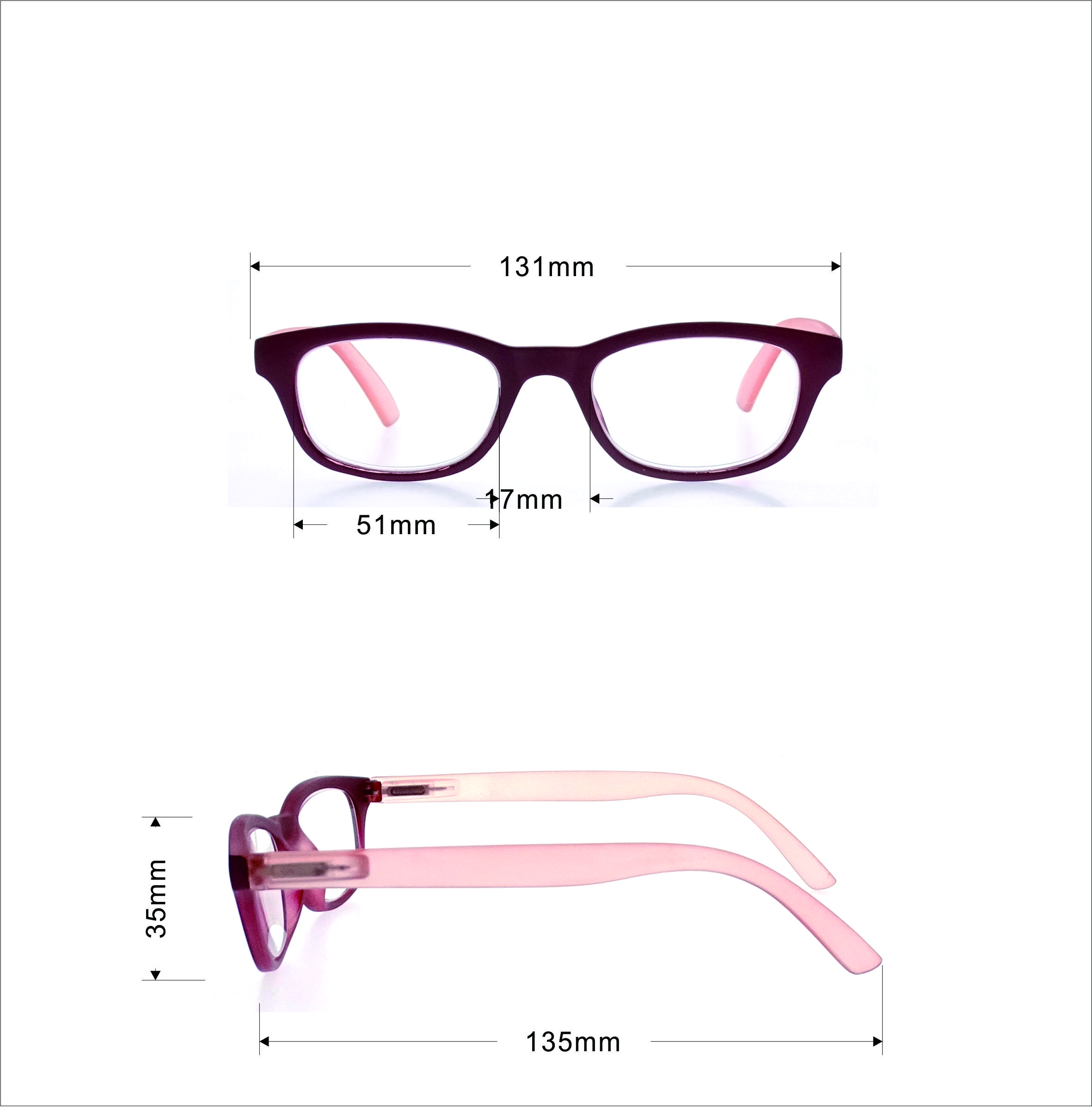Anti -blue Women Design Optics Reading Glasses LR-P6118