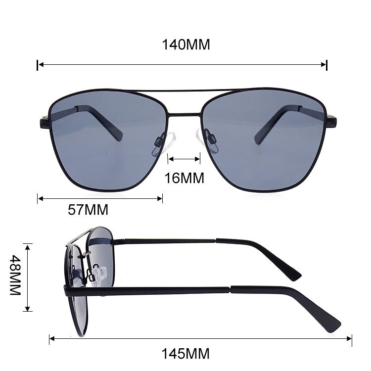 New Metal Frame Street Snap Fashionable Sunglasses Unisex LS-M55